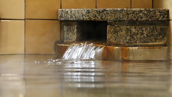 民宿休み石の浴場の画像
